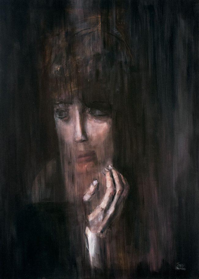 Flot de mon âme oil painting on canvas - Tommy Boureaux - art peinture à l'huile