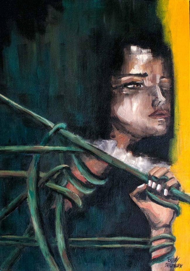 Songes d'un passé oil painting on canvas - Tommy Boureaux - art peinture à l'huile